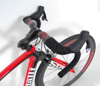 2012 STRADALLI Napoli SRAM Red Black Full Carbon Road Bike Race