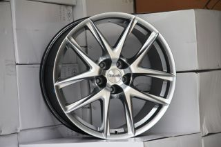 19 Hyper Silver Wheels Rims Nissan Altima Maxima 300zx 350Z
