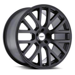 17 TSW Donington Black Rims Wheels 17x8 42 5x114 3