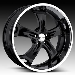 22 Boss Black Wheels Rims Charger 300C Magnum Tires