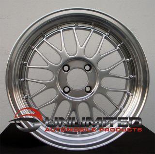16 Varrstoen V4 LM Style Hyper Black Wheels Rims Fit Nissan Datsun