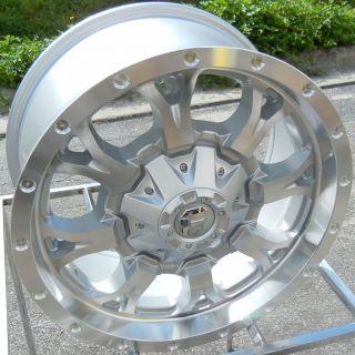 20 Fuel Krank Wheels Rims Tahoe Tacoma 4 Runner GMC Yukon Silverado