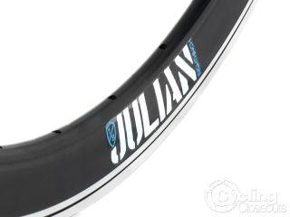 Eighthinch Julian V2 Deep Rim Fixed Gear 700c V Black Machined
