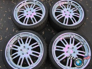 Zone 8 Forged 21 3 Piece Rims Tire 5x4 5 Maxima Mustang