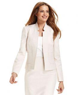 Calvin Klein Jacket, Metallic Check Blazer   Womens Suits & Suit