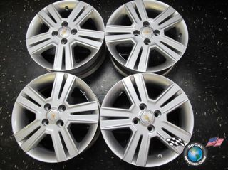 Four 2013 Chevy Spark Factory 15 Wheels Rims 95954820