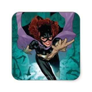 The New 52   Batgirl #1 Square Stickers