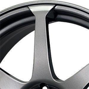 New 18x7 5 5x100 5x114 3 Drag Dr 33 Gray Wheels Rims