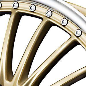 New 17x7 5 5x100 5x114 3 Drag Dr 36 Gold Wheels Rims