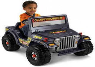 Fisher Price Power Wheels Hot Wheels Jeep Ride On   $125 (Sacramento)