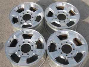 05 09 Dodge RAM 2500 3500 8 Lug 17 Wheels Rims Set