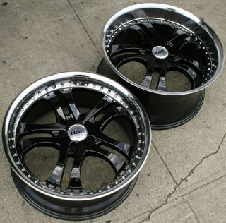 014 20 Black Rims Wheels Infiniti G35 Coupe 20 x 8 5 10 5H 20