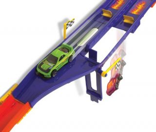 New Hot Wheels Wall Tracks Racing Duel Track Set