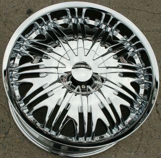 20 Chrome Rims Wheels Lexus GS300 sc400 GS400 20 x 8 5 5H 42