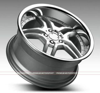 19 inch Rims Mercedes Benz C E Wheels C300 C350 Euromag EM2 Rims