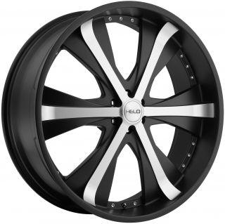 20 Black Helo Wheels Rim Chevy Traverse Buick Enclave GMC Acadia