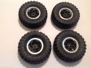 Axial SCX10 Scale Crawler 1 9 RIPSAW Tires AX12016 Wheels