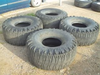 Monster 44 Tires on 6 Lug Rims for Chevy or Toyota Military Mudders