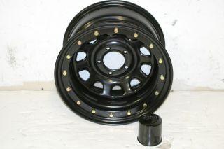 Black Rock 952 Street Lock Wheel 15x8 5x4 5 Jeep Wrangler YJ TJ
