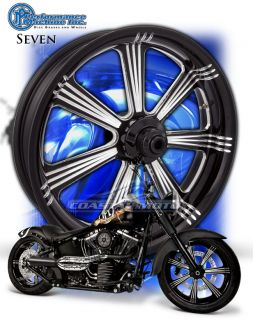 Machine Seven Motorcycle Wheels Harley Streetglide Roadglide