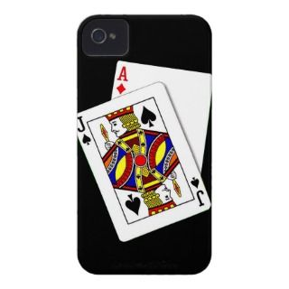 Black Jack iPhone Case iPhone 4 Case Mate Cases