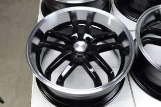 18 5x114 3 5x100 Black Wheels ES300 ES330 Lexus Sorento Eclipse Civic
