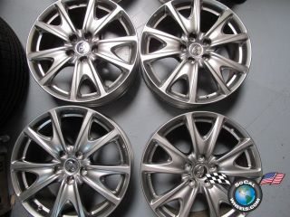 Infiniti G37 Coupe Factory 18 Wheels Rims OEM 73716 N078 875 JU44 A