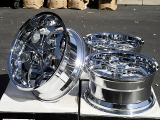 22 Chrome VCT Wheels Rims Avalanche GMC Sierra 1500 Yukon Denali