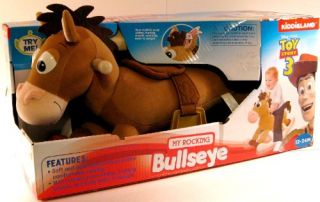 Features of DISNEY PIXAR TOYS STORY 3 BULLSEYE HORSE ROCKING RIDING