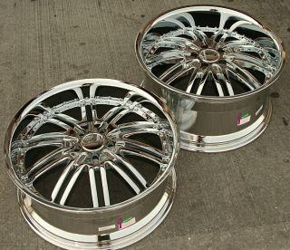20 Chrome Rims Wheels Mercedes SL500 SL600 20 x 8 5 10 5H 20