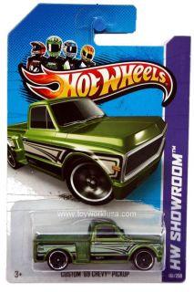 2013 Hot Wheels 161 HW Showroom HW Hot Trucks Custom 69 Chevy Pickup
