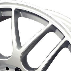 New 15X7 4 100 Dr 37 Silver Machined Lip Wheels/Rims