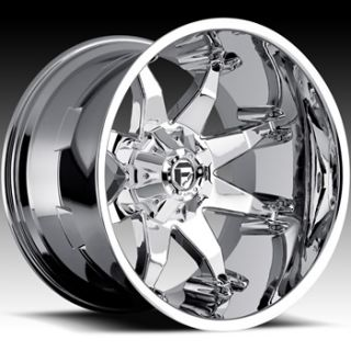20x12 Chrome Fuel Octane Wheels 8x170  44 Lifted FORD F 250 F350