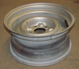 You are bidding on a used original 1968 Corvette Only 15X7 Rally Wheel