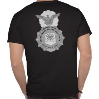 USAF Security Police T Shirts