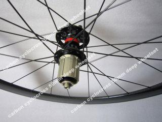 tubular full carbon cyclocross bike wheels,disc brake.cross bike wheel