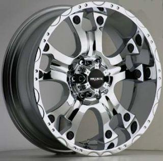 20x9 Ballistic Wheels 811 Hostel 5x150 ET12 Chrome 4 New Rims