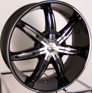 26 Black Wheels Rims F150 Expedition Navigator Yukon