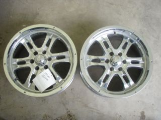 17x9 6 Lug Aftermarket Alloy Wheels. There are only Two Wheels being
