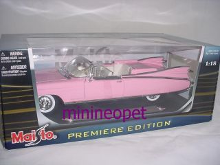 Maisto 1959 59 Cadillac Eldorado Biarritz 1 18 Pink