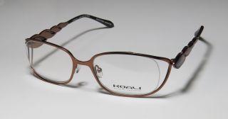 New Koali by Morel 6981K 53 18 130 Brown Ruby Full Rim Vision