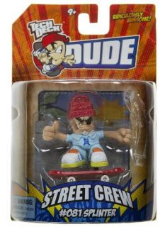 Tech Deck Dude Splinter 081 Street Crew Oceanographer