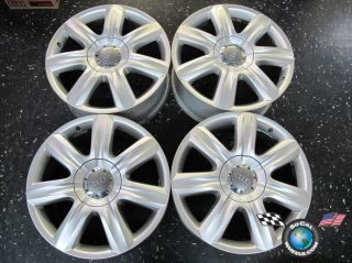 Four 07 10 Audi Q7 Factory 19 Wheels Rims 58805 4L0601025C