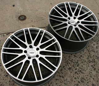 TSW Croft 19 Gunmetal Rims Wheels Infiniti G35 G37 Stag 19 x 8 0 9 5