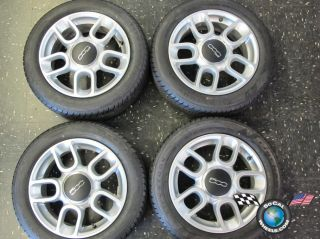 Fiat 500 Abarth Factory 15 Wheels Tires Rims 60660 185 55 15