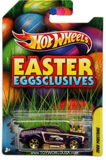 2012 Hot Wheels Wal Mart Easter Eggsclusives 1968 Ford Mustang