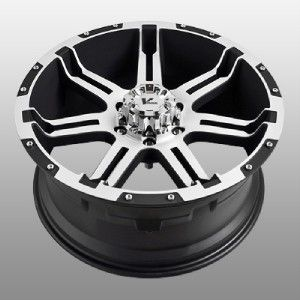 Rock Overdrive Black Wheels Rims 5x150 Tundra Sequoia LX470
