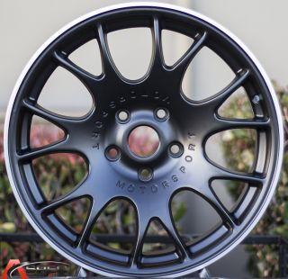 18X8/9 +35 5X112 CH STYLE BLACK STYLE WHEEL FIT VW JETTA PASSAT EOS CC