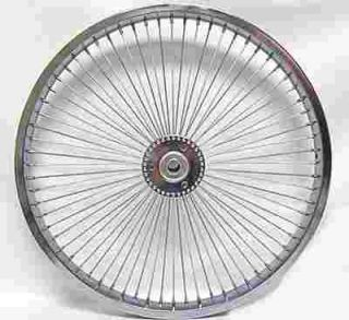 Tricycle Trike 20 x 68 Spokes w Hollow Hub Bike Bicycle Wheel