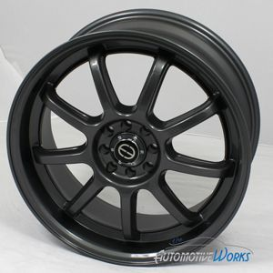 RE14 5x100 5x114 3 5x4 5 42mm Anthracite Wheels Rims inch 17